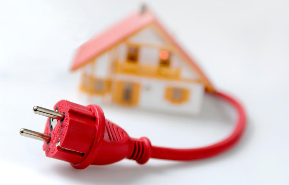 Монтаж электрики в доме